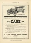 1910 11 30 CASE The CASE Car THE CAR WITH THE FAMOUS ENGINE THE HORSELESS AGE 9×12 page 16