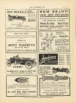 1910 11 30 PARRY Eight Models for 1911 Ranging from $900 – $1850 PARRY AUTO CO Indianapolis, Indiana THE HORSELESS AGE November 30, 1910 Vol. 26 No. 22 9×12 page 36