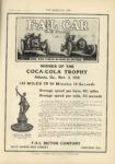 1910 11 9 FAL CAR WINNER OF THE COCA COLA TROPHY THE HORSELESS AGE 9×12 page 15
