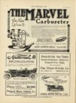 1910 12 28 THE MARVEL Carburetor The Name Defines It Indianapolis THE HORSELESS AGE December 28, 1910 Vol. 26 No. 26 9×12 page 24