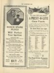 1910 12 7 A PREST O LITE ON YOUR NEW CAR SPECIFY A PREST O LITE Gas Tank The Prest O Lite Co, Indianapolis, Indiana THE HORSELESS AGE December 7, 1910 9×12 page 21