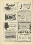 1910 12 7 HAYNES THE SUPER HAYNES HAYNES AUTOMOBILE COMPANY, Kokomo Indiana THE HORSELESS AGE December 7, 1910 Vol. 26 No. 23 9×12 page 26