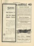 1910 12 7 NATIONAL National 40 Autocrat of the Road THE HORSELESS AGE 9″x12″ page 19