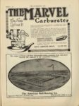 1910 9 7 THE MARVEL Carburetor Indianapolis THE HORSELESS AGE September 7, 1910 9×12 page 37