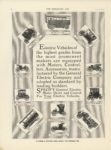 1911 2 22 Electric Vehicles Electric Vehicles of the highest grades from the most prominent makers… THE HORSELESS AGE February 22, 1911 Vol 27 No 8 University of Minnesota Library 9″×12″ page 6