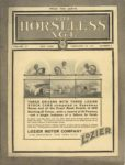 1911 2 22 THREE DRIVERS WITH THREE LOZIER STOCK CARS THE HORSELESS AGE 9×12 Front cover