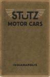 1914 STUTZ MOTOR CARS INDIANAPOLIS 6×9 Front cover 1