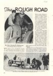 1938 The ROUGH ROAD to GLORY By Maj George H Robertson POPULAR MECHANICS 7×9 page 178