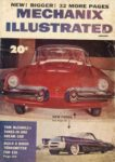 1954 1 MECHANIX ILLUSTRATED NEW FORDS 6×9 Front cover