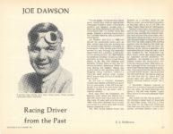1981 11 12 JOE DAWSON Racing Driver from the Past By EL Balderson ANTIQUE AUTOMOBILE 11×8 page 15