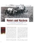 2011 Motors and Mayhem RECOUNTING THE FIRST INDY 500 text Charles Leerhsen photography IMS Photo 8×11 page 38