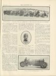 1911 4 5 NATIONAL, CASE World's Marks Fell at Pablo Beach. THE HORSELESS AGE April 5, 1911 Vol. 27 No. 14 9″x12″ page 605