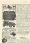 1905 ca. NATIONAL AUTOMOBILES Both Powers — Gasoline or Electric 2″x4″