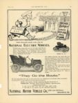 1904 1 6 NATIONAL ELECTRIC VEHICLES THE HORSELESS AGE 9″×12″ page 3