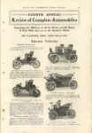 1904 FOURTH ANNUAL Review of Complete Automobiles CYCLE AND AUTOMOBILE TRADE JOURNAL 6×9 page 49 1