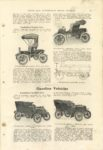 1904 FOURTH ANNUAL Review of Complete Automobiles CYCLE AND AUTOMOBILE TRADE JOURNAL 6×9 page 59
