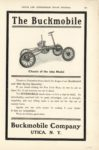 1904 The Buckmobile Utica, NY CATJ page 349