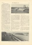 1905 5 24 Morris Park Opening WEBB JAY DRIVING NEW WHITE STEAM RACER THE HORSELESS AGE 8.5″x11.5″ page 595