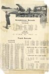 1905 6 World's Records Straightaway Records Track Records June 1905 8.5″×13″
