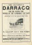 1906 10 11 DARRACQ VANDERBILT CUP RACE MOTOR AGE 8.5″×11.75″ page 49