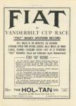 1906 10 11 FIAT VANDERBILT CUP RACE MOTOR AGE 8.5″×11.75″ page 50