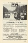 1908 6 Elco MOTOR BOATS THE IDEAL PLEASURE BOAT THE ELECTRIC LAUNCH COMPANY Review of Reviews Advertising Section June 1908 page 73