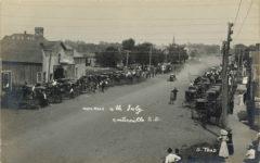1908 ca AUTO RACE 4th July Centerville SD S Trad RPPC front