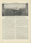 1909 12 23 AEROPLANES YOUNGER FARMAN MAKES CROSS COUNTRY RECORD THE AUTOMOBILE 9″x12″ page 1079