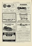1909 12 23 AMERICAN THE AMERICAN A CAR FOR THE DISCRIMINATING FEW Indianapolis, Indiana THE AUTOMOBILE 9″x12″ page 82