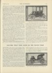 1909 12 23 BAKER Electric 1910 BAKER ELECTRICS ARE SHAFT DRIVEN ELECTRIC THAT MADE GOOD ON THE MUNSEY TOUR THE AUTOMOBILE 9″x12″ page 1103