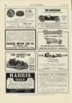 1909 12 23 COLE 1500 COLE 30 1500 Indianapolis, Indiana THE AUTOMOBILE 9″x12″ page 82