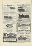 1909 12 23 Continental 35 Indiana Motor Mfg. Co. Indianapolis, Indiana THE AUTOMOBILE 9″x12″ page 84