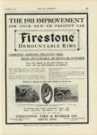 1909 12 23 Firestone DEMOUNTABLE RIMS THE AUTOMOBILE 9″x12″ page 123