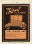 1909 12 23 IDEAL Electric THE IDEAL ELECTRIC YOU CANNOT FAIL THE AUTOMOBILE 9″x12″ page 79