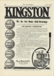 1909 12 23 KINGSTON THE MODERN CARBURETOR Byrne, Kingston & Co. Kokomo, Indiana THE AUTOMOBILE December 23, 1909 9″x12″ page 108