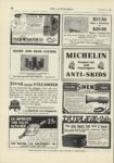 1909 12 23 MICHELIN Protect Car and Passengers ANTI SKIDS THE AUTOMOBILE 9″x12″ page 68