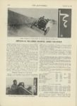 1909 12 23 NATIONAL SPEEDWAY RECORDS DESPITE ZERO WEATHER THE AUTOMOBILE 9″x12″ page 1076