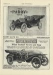 1909 12 23 PARRY THE PARRY IDEA Touring $1485 Roadster $1285 PARRY AUTO CO Indianapolis, Indiana THE AUTOMOBILE December 23, 1909 9″x12″ page 115