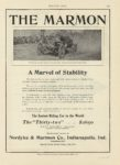 1909 12 30 MARMON THE MARMON Wheatley Trophy in the Vanderbilt A Marvel of Stability Nordyke & Marmon Company Indianapolis, Indiana MOTOR AGE Dec 30 1909 8×12 page A23