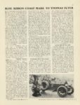1909 6 3 THOMAS FLYER BLUE RIBBON COAST MARK MOTOR AGE June 3 1909 8×12 page 15