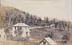1909 8 5 ALGONQUIN, ILL PHILLIPS HILL C. M. C. Hill Climb RPPC pic of pic