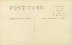 1909 ca Savannah ESTILL AVE AUTO RACE COURSE SAVAH GA RPPC back