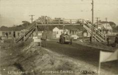 1909 ca Savannah ESTILL AVE AUTO RACE COURSE SAVAH GA RPPC front