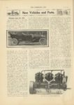 1910 10 12 New Vehicles and Parts Premier Line for 1911 Indianapolis THE HORSELESS AGE 9×12 page 500