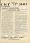 1910 10 12 Price of 1911 Model EMF 30 1000 EMF AUTOMOBILE COMPANY OF NEW YORK THE HORSELESS AGE 9×12 page 27