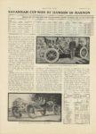 1910 11 17 MARMON SAVANNAH CUP WON BY DAWSON IN MARMON Nordyke & Marmon Company Indianapolis, Indiana MOTOR AGE November 17, 1910 8.75″×12″ page 10