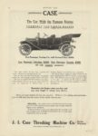 1910 9 1 CASE The Car With the Famous Engine MOTOR AGE Sept 1 1910 page 62