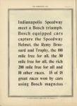 1910 9 7 BOSCH magnetos Indianapolis Speedway THE HORSELESS AGE 9×12 page 12