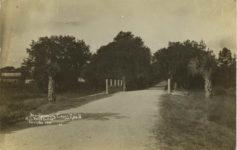 1910 Montgomery Cross Road Auto Race Course Savh GA HS RPPC front