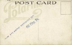 1910s ca NO HANDICAP BOTH USE Polarine OIL postcard back